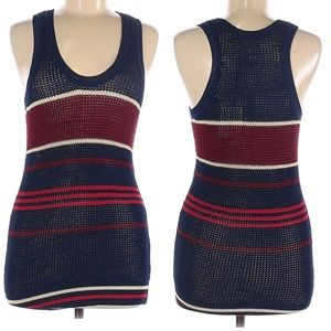 Isabel Marant Knit Striped Pullover Sleeveless Top